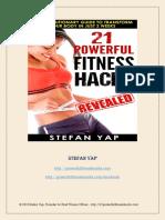 21 Powerful Fitness Hacks