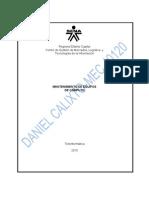 EVIDENCIA 105-SOLDADURA CONECTOR CABLE SERIE