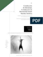 Acosta, Yamandú - Constitución de identidad, Constitución de humanidad desde Nuestra América.pdf