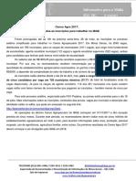 Informativo _026_ Prorrogação Processo Seletivo Censo Agro