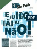 Jornal CRP - Eu digo não!