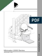 Minivator 2000 Series Installation Manual