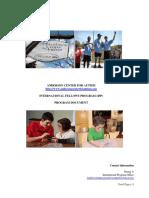 Anderson Intl Fellows Program