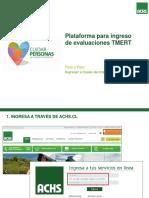 Instructivo Plataforma TMERT