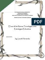 i Guía Estrategias Educativas Para El Uso de Las Nuevas Tecnologias de La Informacion y Comunicacion