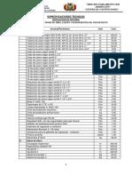 Especificaciones Tecnicas - Instalacion de Gas