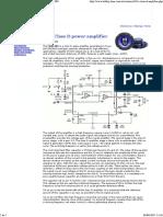 10W Class D Power Amplifier