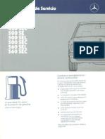 Manual Mecedes Benz W126