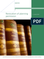 Revocation of Planning Permission