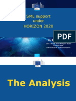 Bernd REICHERT- DG Research &Innovation -H2020 SME Instrument