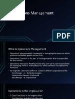 1. Operations Management