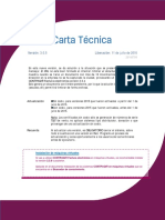 Carta Tecnica Cti Factura Electronica 305