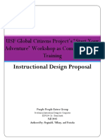 Instructional Design Proposal