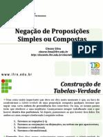 NEGACAO_PROPOSICOES_SIMPLES_E_COMPOSTAS.ppt