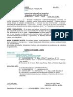 Violoncello Planificacion 2014