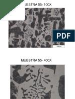 Microscopia de Fundiciones