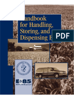 DOE - Handbook for Handling, Storing, And Dispensing E85_ Fuel Ethanol - (DEPARTMENT ENERGY, DOE, 2002; 34 p)