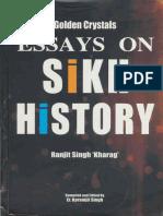 Golden Crystals - Essays on Sikh History - Ranjit Singh Kharag
