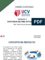 Pre Inversion - Periodos de Diseño 2