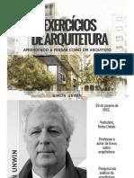 Simon Unwin Exercicios de Arquitetura