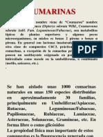 2.- Cumarinas y Lignanos