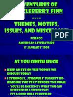 AdventuresofHuckleberryFinn Themes
