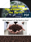 elements of the earth