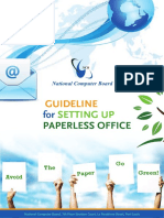 Guideline for Setting Up Paperless Office