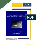 Manual de Buenas Prácticas Ambientales en Conducción Eficiente