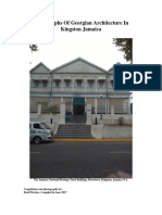 Photographs of Georgian Architecture in Kingston Jamaica