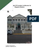 Photographs of Georgian Architecture in Kingston Jamaica