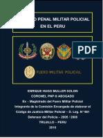Libro Derecho Penal Militar Policial Peruano