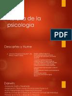 Historia de La Psicologia Darwin, Wundt, Dumas, Ribot, Watson