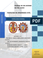 Informe Segunda Parcial Hidrologia 2015 i