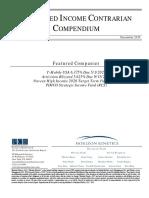 Fixed Income Contrarian Compendium December 2015