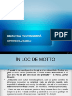 Didactica postmoderna