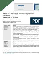 2014 Eficacia de la fisioterapia en el síndrome del pinzamiento del hombro.pdf