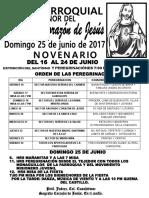Fiesta Del Sagrado Corazón de Jesus 2017
