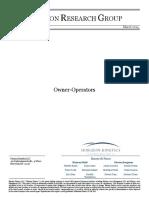 Owner Op Paper