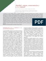 La Pandemia de La Obesidad Causas, Consecuencias y Soluciones - Tenemos La Voluntad