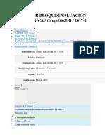 Parcial 1 Evaluacion Psicologica Revisado