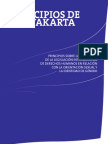 Los Principios de Yogyakarta