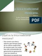lalricatradicionalmexicana-130310143129-phpapp02