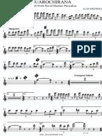 Marcha Huarochirana_alan Mendoza - Ok - Clarinet in Bb