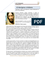 6 El Kerigma Cristiano. Catequista