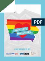 Iowa LGBTQ Media Guide 2017