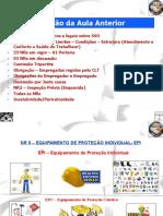 Aula 4 EPI Equipamento de Proteção Individual ESST Pitágoras