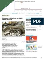 Consumo Retraído Reduz Receita Da Ambev No Brasil - 05-05-2017 - Mercado - Folha de S
