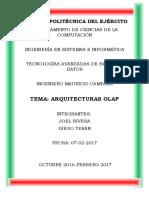 Arquitecturas OLAP