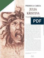 Kristeva y La Decapitación